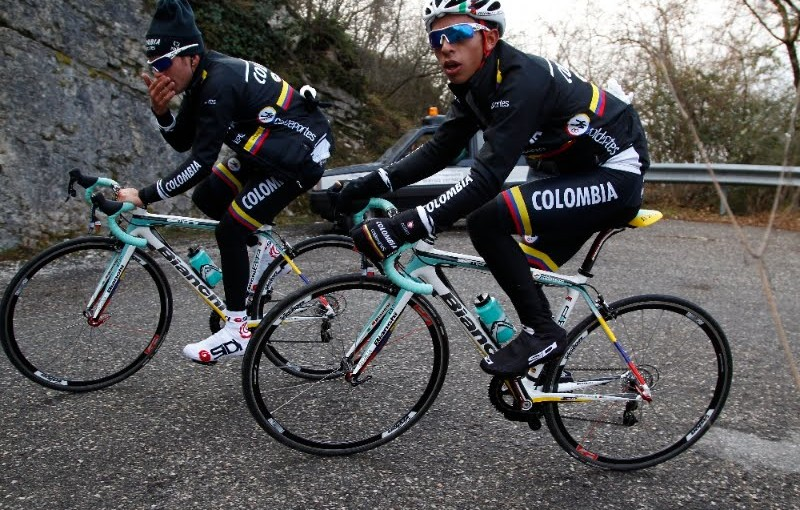Bianchi Sempre Pro Columbia Team Color