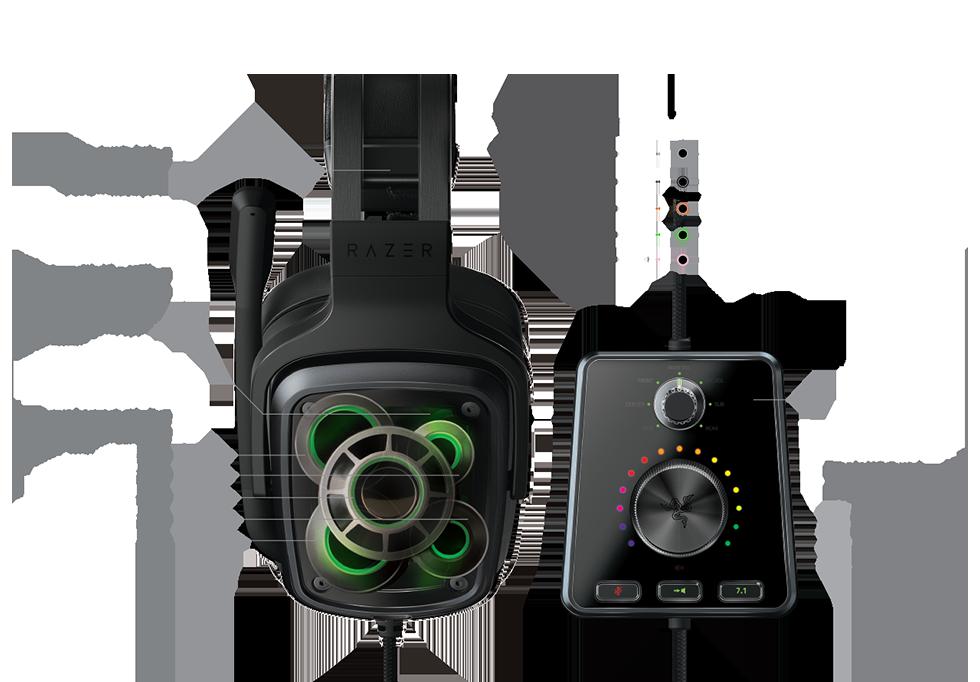 番外編)Razer Tiamat 7.1 V2でリアルサラウンド7.1chヘッドセットを気軽に導入|プレイユニット|SPLATOON アーキテクチャ・デザインパターン